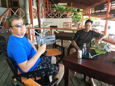 Jon & Chris in Ti Kaye Bar