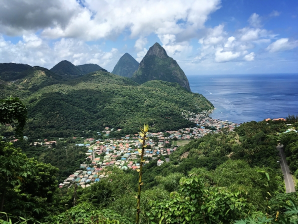 View of Soufriere