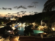 View over Windjammer Landings, St Lucia