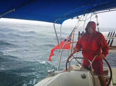 Skipper in the squall