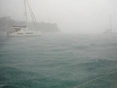 Rain in Bequia