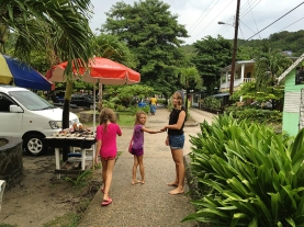 The girls in bequia